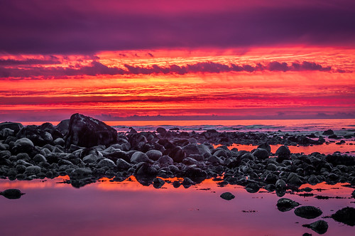 clouds sunrise rocks tide low newbrunswick irving fundy saintjohn irvingnaturepark