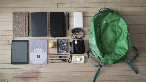 stuff in my bag. Jan 26 | by vglezakos