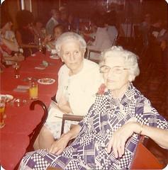 Mrs. A. Radjenovic and Mrs. Z. Popov