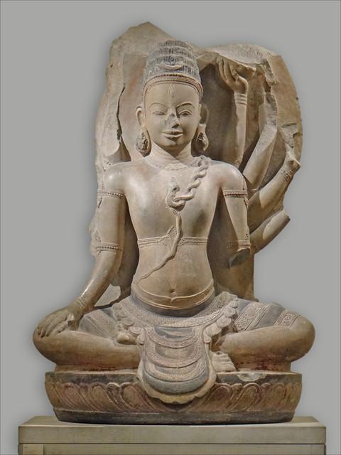 Shiva, art cham (musée national des arts asiatiques - Guimet)