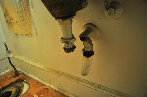 2012-02-04 Bathroom demolition 13 | by ericdodds