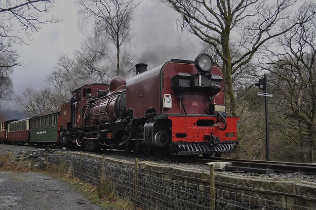 138 arriving at Beddgelert