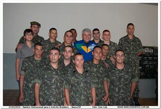 Exército Brasileiro Bauru Palestra Motivacional Ao Exérc