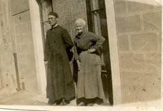 Mère de tonton Louis Bourgeaud Marie-Louise ép François Bonnefoy et son neveu Gabriel Auric frère de la grand-mère de Th. Bédouet
