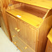 New pine chest baby changer