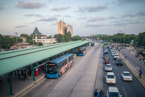 Dar es Salaam's new bus transit system   by World Bank Photo Collection
