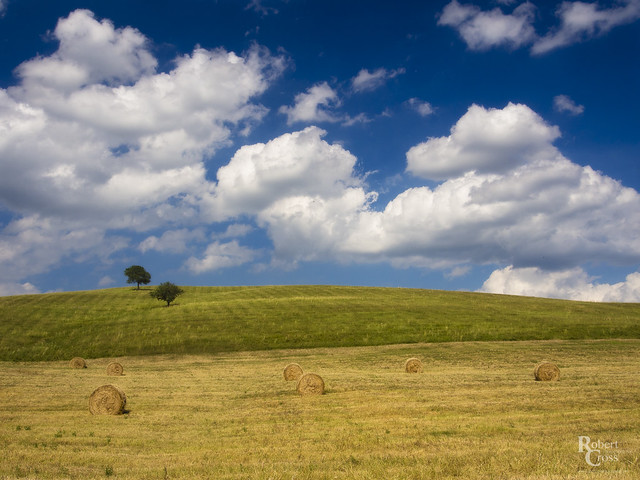 The Summer Skies of Tuscany