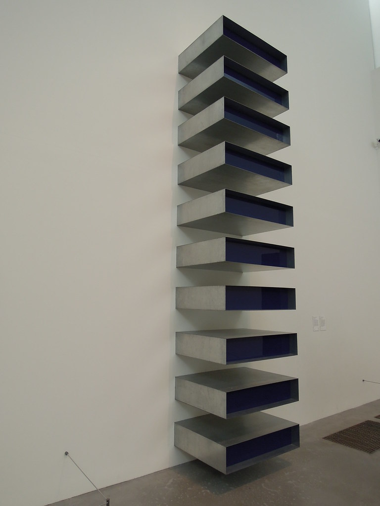 "Donald Judd, ""Untitled"" (1980)"