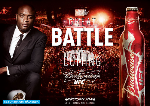 Budweiser UFC - Great Battle are Coming | by Ramon William