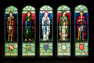 St Sebastian, St John, Our Lady of Lourdes, St Erconwald and St Edward