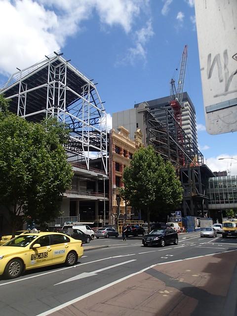 Façadism, Melbourne (Nov 2013)