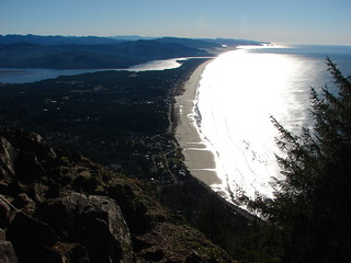 Nehalem Bay, The Pacific Ocean, Cape Mears, and Cape Lookout