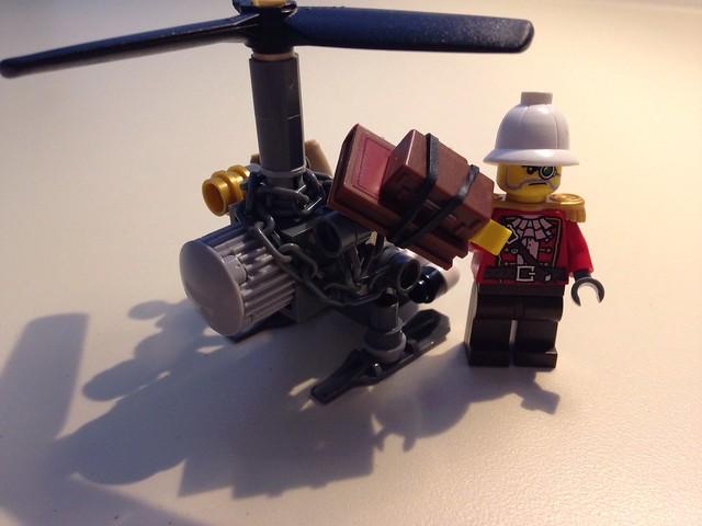 Steam punk chopper