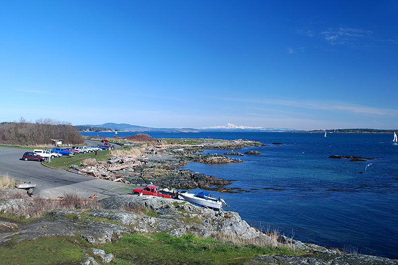 Cattle Point in Oak Bay, Victoria, Vancouver Island, British Columbia, Canada