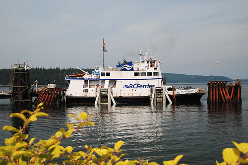 Port McNeill Ferry Terminal, Port McNeill, Vancouver Island, British Columbia, Canada