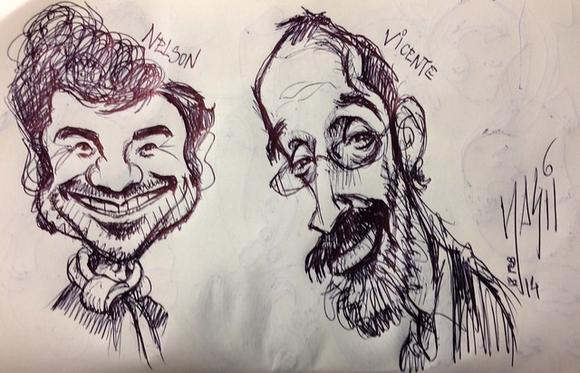 Sketch of Nelson & Vicente