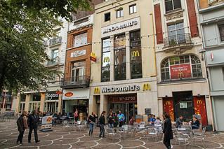 McDonald's Lille Place de Béthune (France) | by Meteorry