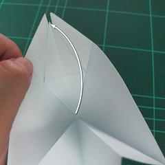 การพับกระดาษเป็นรูปตัวเม่นแคระ (Origami Hedgehog) 024