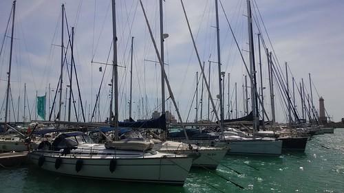 Porticciolo di Marina di Cala del Sole e il suo Faro | by S I C A N I A