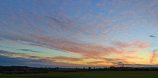 Sunset Panorama 09/08/2013