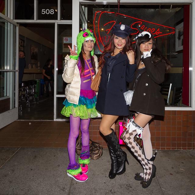 SF Halloween 2013: trio
