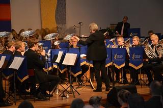 Brassbandfestivalen 2012 - Berit Palmquist leder SYBB