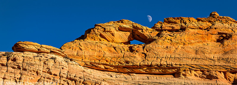 Moon Over Arch
