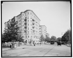 1904 streetcar on Connecticut Avenue at L Street NW
