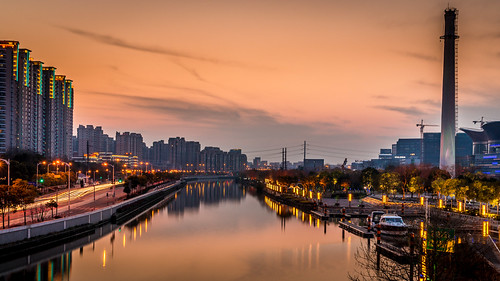 sundown on the creek | by Rob-Shanghai