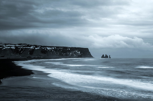 View of Reynisfjara Beach