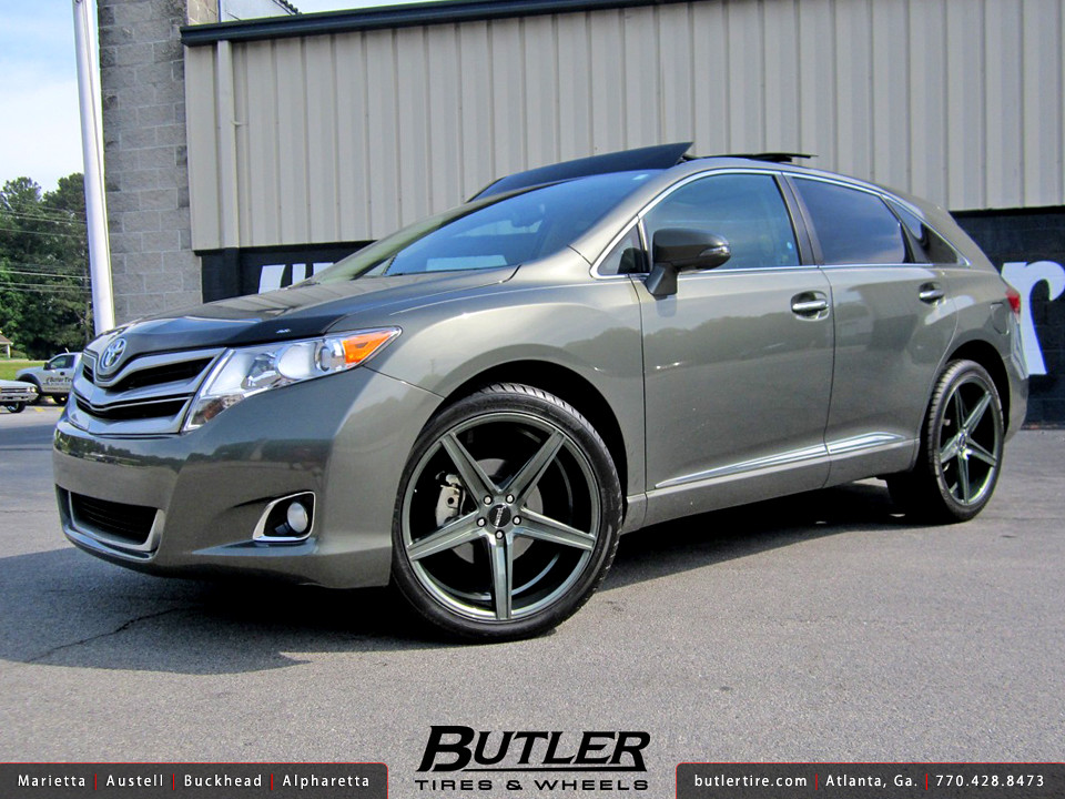 Toyota Venza With 22in Savini Bm8 Wheels Additional Pictur Flickr