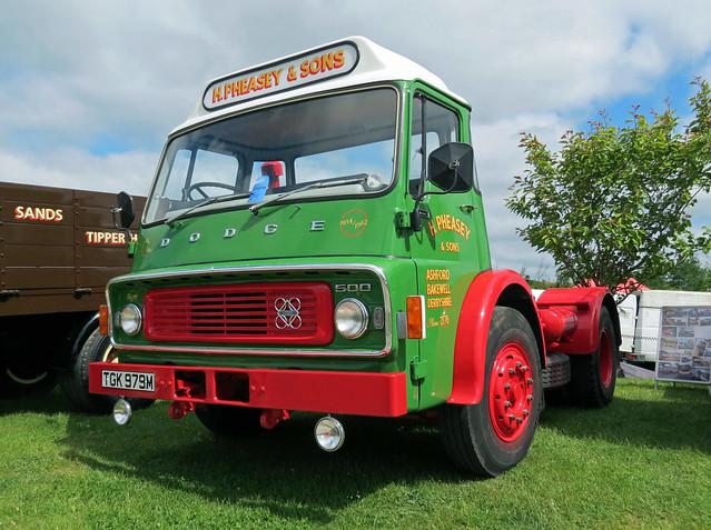 TGK979M Dodge Kew 500 Tractor Unit