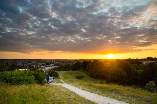 city sunset england sky moody unitedkingdom norfolk norwich