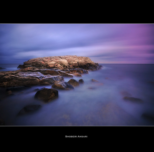 ocean longexposure ri seascape beach nature water rock america sunrise landscape bay seaside estuary rhodeisland northeast attraction narragansett narragansettbay oceanstate nd110 shobeiransari