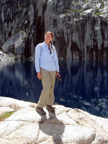 Ingrid at Precipice Lake | by simonov
