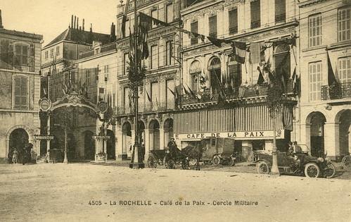 La Rochelle: café de la Paix | by Simenon.com