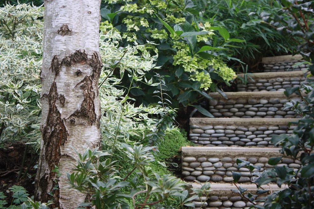 Escalier en galets | Jardin japonais à Meudon (92) Conceptio ...