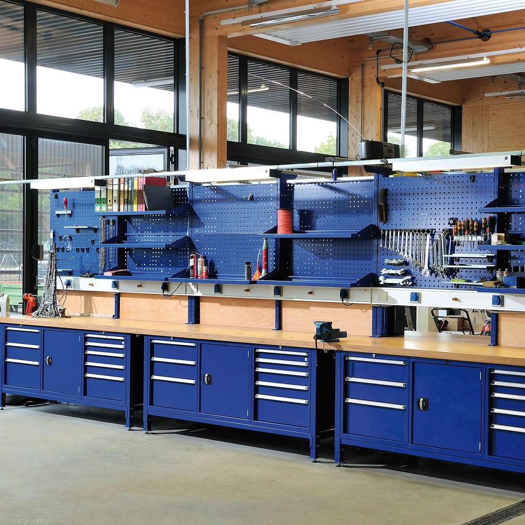 Werkstatteinrichtung Schwere Kastenwerkbank Individualis Flickr