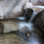 Rock in water, Diana's Baths