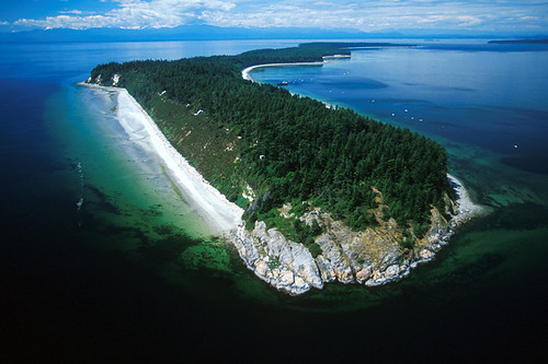 Savary Island, Strait of Georgia, Sunshine Coast, British Columbia, Canada