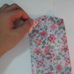 การพับกระดาษเป็นรูปหัวใจแบบ 3 มิติ 016
