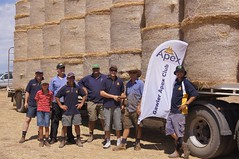 Proceeds from the Australia Day breakfast went towards the purchase of hay for those affected by the Barossa bushfires in January 2014