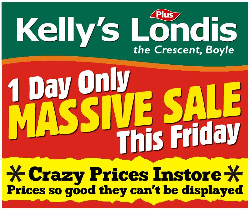 Kelly's Londis Sale