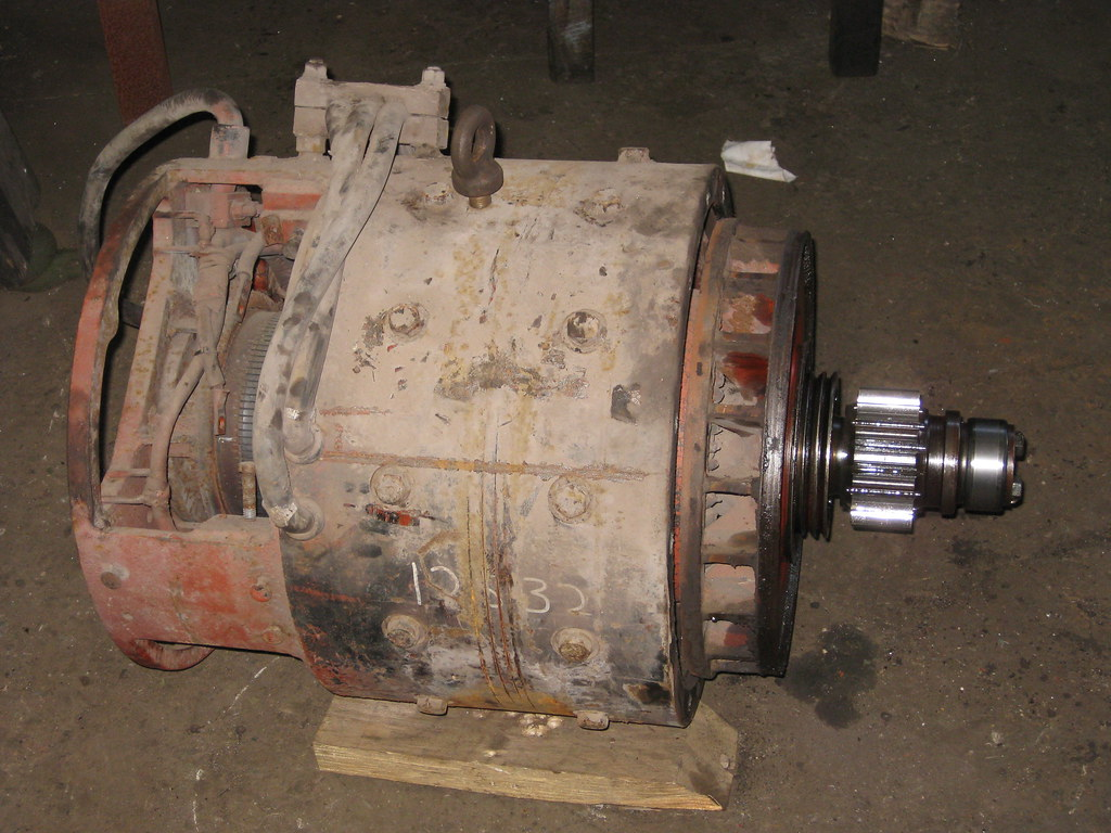 Defective traction motor by LC1073