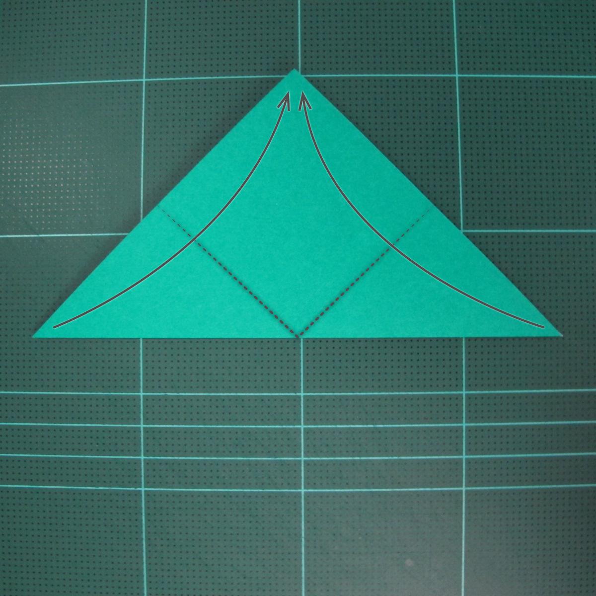 วิธีพับกระดาษเป็นรูปหมวกซามุไร (Origami Samurai Hat) 002