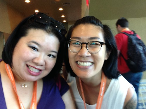 PIC: So happy to meet @estherxlwang in person at #NN15 | by @jozjozjoz