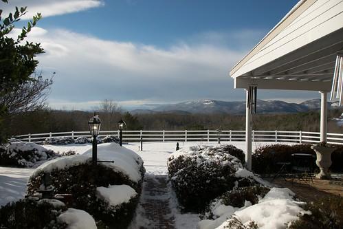 theredhorseinn blueridgemountains snow snowday romanticgetaway romanticview romance landrum greenville sc