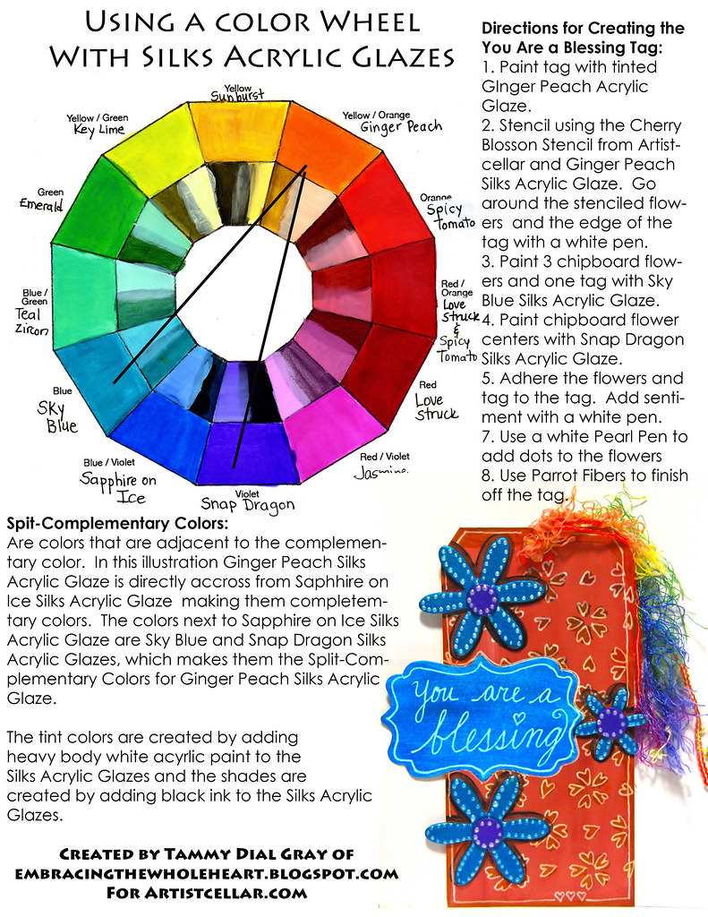 Spit-Complementary Colors | A color wheel and tag turorial
