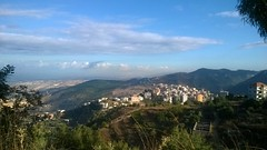 PHOTO2-Jbaa, Lebanon, view overlooking Father's village in Southern Lebanon