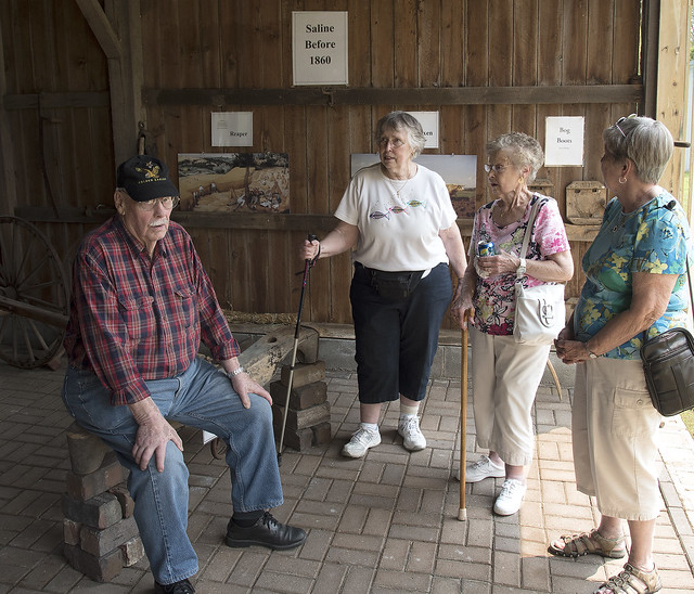 Saline Seniors at Livery Barn